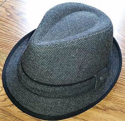 cc41b800f7f MOBSTER GANGSTER FEDORA Hat Halloween Costume (O S) LOT of 4 Hats ...