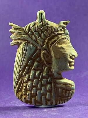 Absolutely Stunning - Circa 51Bc-162Ad Ancient Egyptian Cleopatra Stone Amulet