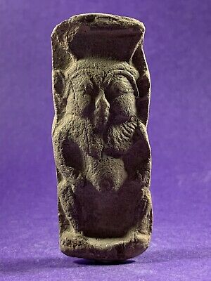 Circa 770-332Bce Ancient Egyptian God Of Protection - Bes Statuette
