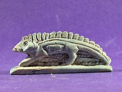 Very Beautiful Circa 715-332Bc Ancient Egyptian Sobek God Statuette