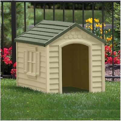 XL Dog Kennel Outdoor Comfort For X-Large Dogs Pet Insulated Huge Cabin House