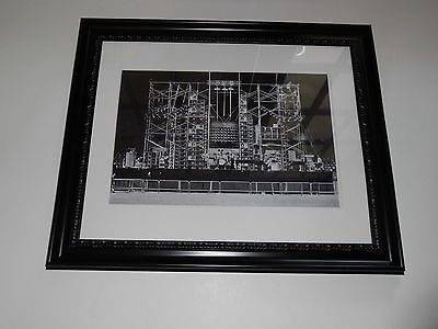 "Large Framed WALL OF SOUND Grateful Dead 1974 Concert RARE Poster, 24"" by 20"""