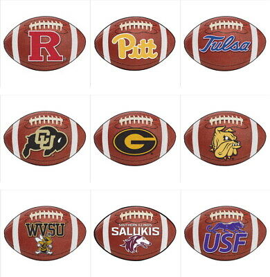 NCAA Football Mat Area Rug 70 Teams Pick Your College Team