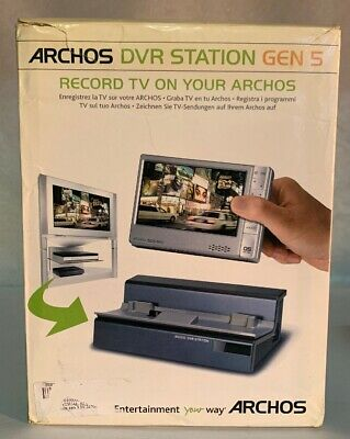 Archos DVR Station Gen 5 Dock for 405 605 WiFi Players #BBD7C31BO5XLS-C2