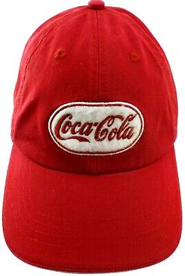 b4f732d6e2a Coca-Cola Columbus Ohio Red 100% Cotton One Size Fits All Cap Free Shipping