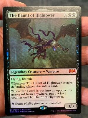 MTG The Haunt of Hightower - Ravnica Allegiance - Buy-A-Box This Is One Copy