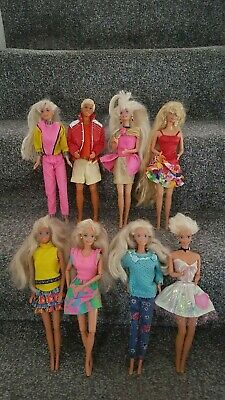 Barbie Doll 1980s Ken Dolls x 9 Blonde Hair No Shoes Lovely Dolls