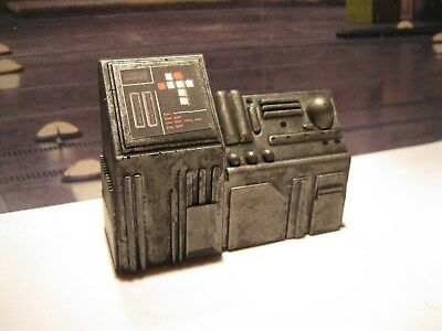 Star Wars Award Winning Custom Cast Control Panel Diorama Parts Free Shipping