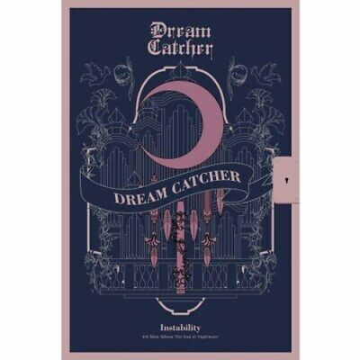 DREAM CATCHER - 4th Mini [The End of Nightmare] Instability ver. + Poster