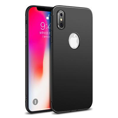 Ultra Thin Matte Soft TPU Silicone Protect Case Cover For iPhone XS Max XR