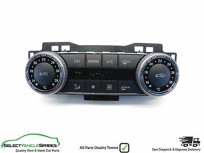 Mercedes C-Class W204 Air Con Heater Control Switch Panel Buttons 2007-2009