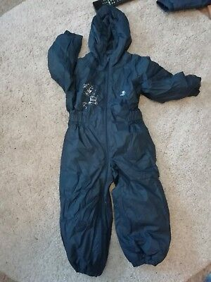 c81e16487 KIDS TRESPASS DRIPDROP Padded Waterproof All In One Snow   RainSuit ...