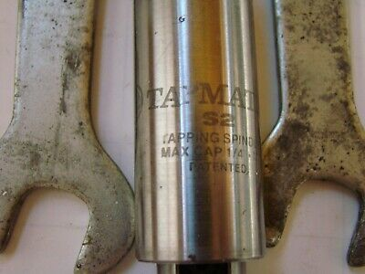 """tapmatic S2 tension compression tap holder 1/4""""capacity straight shank"""
