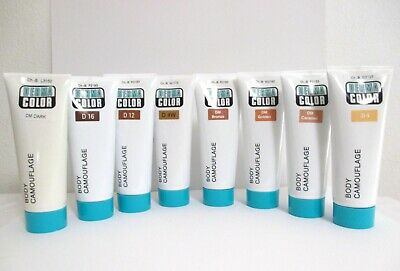 DERMACOLOR BODY CAMOUFLAGE SYSTEM  High Coverage Waterproof 50 ml Cream Various