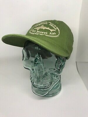 Dogfish Head Craft Brewed Ales Snapback Hat Green Adjustable Baseball Cap  USA c6be94828a54