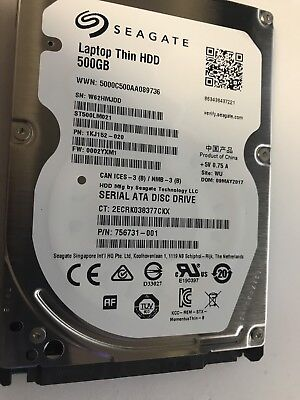 Seagate Laptop ST500LM021 - 500 GB 6Gb/s. *Free Express Post* 2019 pricing!!