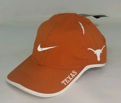 outlet store 77ede 9d29e Brand New Texas Longhorns Nike Featherlight Adjustable Hat Cap NCAA