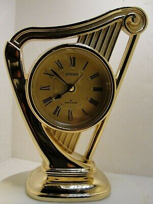 Citizen Quartz Alarm Clock In Very Good Condition, 5 Inches In Height
