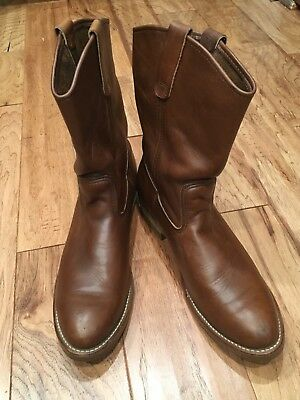 a13706eab5a VINTAGE RED WING Cowboy Motorcycle Rancher Pecos Boots Oil Resisting ...
