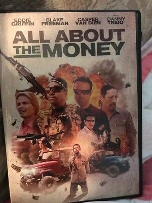 All About The Money (DVD,2017) ***ACTION/ADVENTURE*****FREE SHIPPING