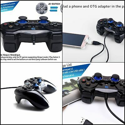 USB Controller Wired For Sony PS4 Playstation4 Dualshock Gamepad US Joystick
