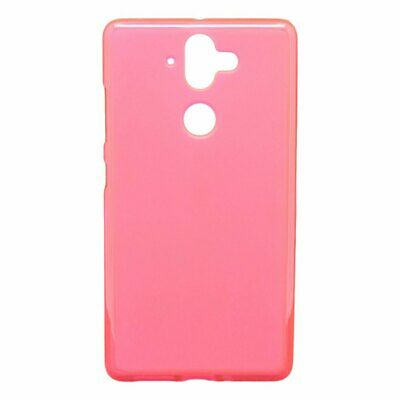 Cover PINK SMOOTH for NOKIA 8 SIROCCO + TEMPERED GLASS Case TPU Gel Silicone