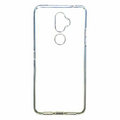 "Cover 100% CLEAR for ALCATEL 3V (2018) 4G 6"" + TEMPERED GLASS Case TPU Gel Si..."