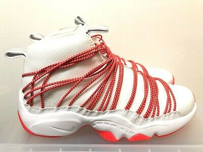 254c6f150ac8 Nike Air Zoom Cabos White Infrared Men s Basketball Shoes Size 10 NEW  845058-100