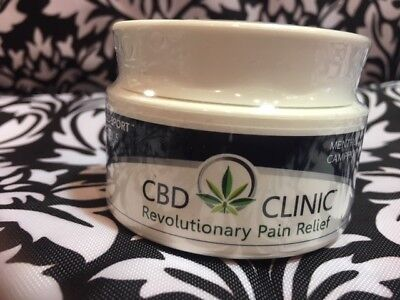 CBD Clinic Level 5 Pro Sport Deep Muscle&Joint PainRelief Cream 1.55 oz jar/ 44g