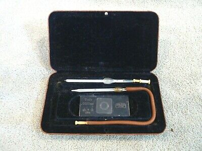 Vintage Carl Zeiss Jena Haemacytometer Blood Testing Set Germany