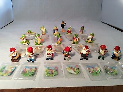 Kinder Surprise Crocs, Dafney Duck and Knomes lot of 18