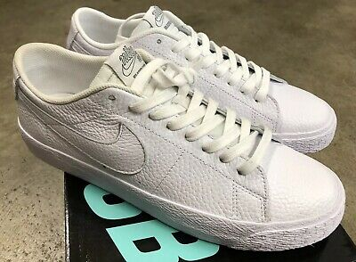 d3fa27a48411 NIKE SB ZOOM Blazer Low NBA White Rush Blue Sz 8 AR1576-114 Rt Shoe ...