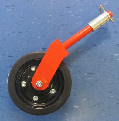 """Complete Finishing Grooming Mower Wheel Assembly 8"""" Maschio Caroni And More"""