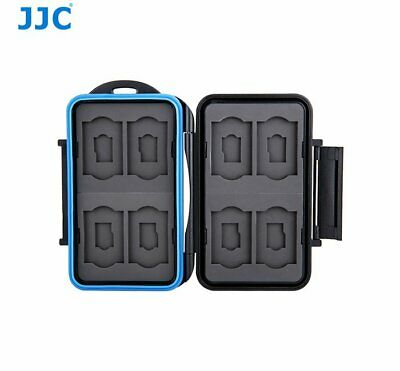 JJC MC-ST16 Comfortable Memory Card Holder case fits for 8x SD, 8x MSD Card