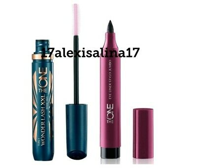 Oriflame 5-in-1 Wonderlash XXL Mascara + The ONE Eye Liner Stylo Jumbo - Black
