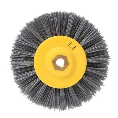 1 piece 150x40mm x M14 P80Nylon Abrasive Wire Polishing Brush Wheel for Wood T9