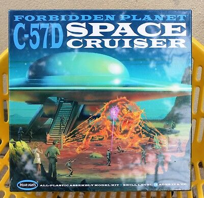 Last One - New Factory Sealed Forbidden Planet C-57D Space Cruiser  - Last One