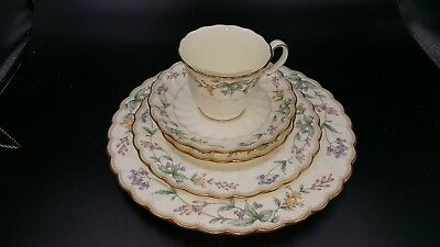 Noritake Brookhollow 5 Piece Place Setting Mint-Unused Multiples Availble