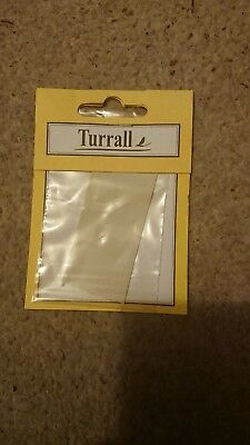 Turrall legs rubber white 40 pieces