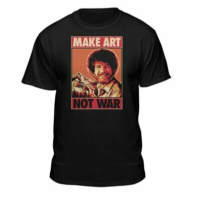 Teelocity Political Bob Ross Shirt – Officially Licensed Graphic Design Shirt