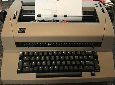 IBM CORRECTING SELECTRIC III TYPEWRITER In Good Cosmetic Cond, Parts Or Repair