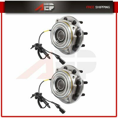 Set : 2 LH or RH Front Wheel Hub Bearing For Ford F-250 F350 Super Duty 4X4 4WD