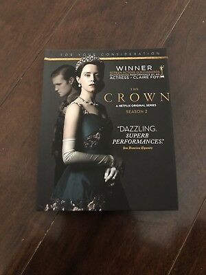 2017 & 2018 Emmy DVD The Crown Complete Seasons 1 & 2 Claire Foy Matt Smith