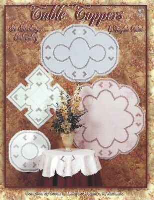 Table Toppers in Hardanger Embroidery - Vaughnie Olivieri