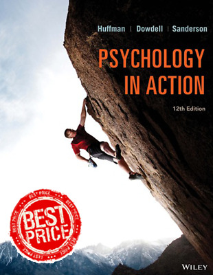 Psychology in Action 12th Edition By Karen Huffman 2019 [PDF] Fast Delivery