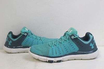 new style 86914 77f89 UNDER ARMOUR 1274417-369 UA Micro G Limitless 2 Women's Training Shoes SZ  9.5