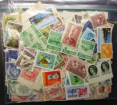Pre Dec,Australia,Assorted bulk lot,450+ Stamps,Reasonable Con & Var,MH,#2063