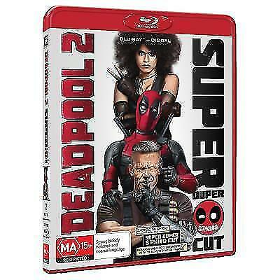 Deadpool 2 (BLU-RAY) BRAND NEW & SEALED BLU-RAY  Region B (Australian)