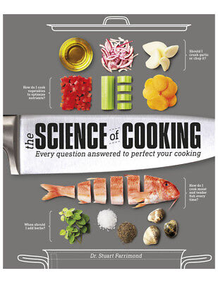 The Science of Cooking by Dr. Stuart Farrimond DK Publishing PDF eDelivery