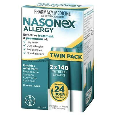 Nasonex® Allergy -  Nasal Spray 140 Metered Sprays Twin Pack